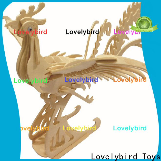 Lovelybird Toys new 3d wooden animal puzzle supply for present