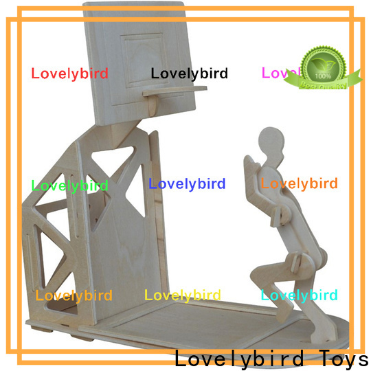 Lovelybird Toys 3d wooden puzzle dollhouse furniture supply for present