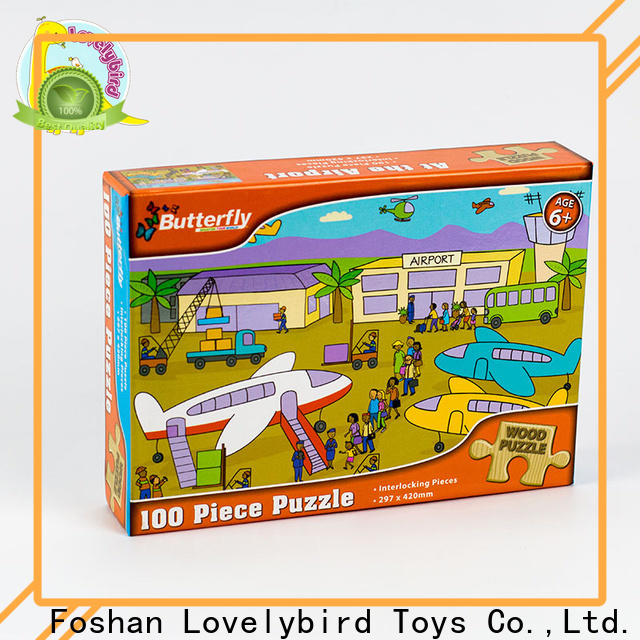 Lovelybird Toys latest disney wooden puzzles with frame for kids