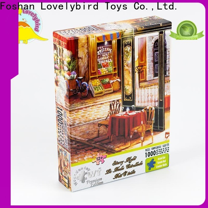 Lovelybird Toys 1000 piece jigsaw puzzles company for kids