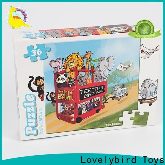 Lovelybird Toys cartoon jigsaw puzzles suppliers for kids