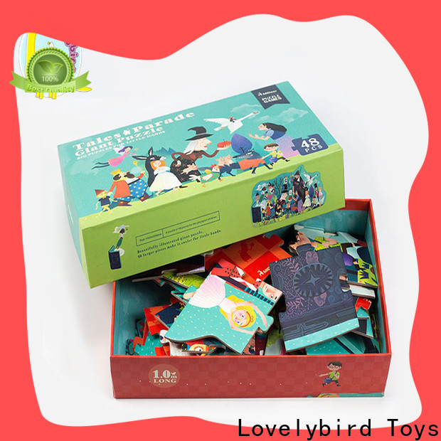 Lovelybird Toys new cool jigsaw puzzles company for adults