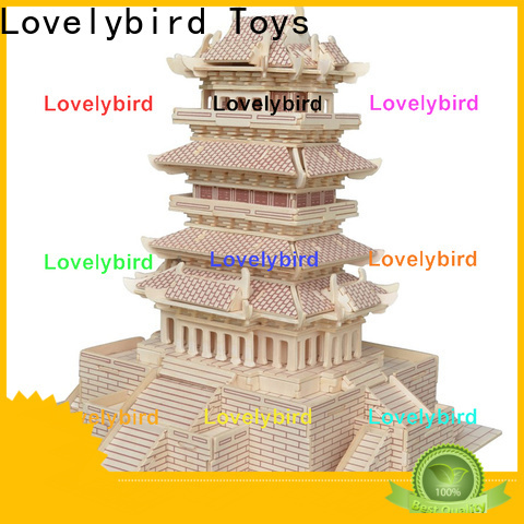 Lovelybird Toys interesting 3d building puzzle supply for kids