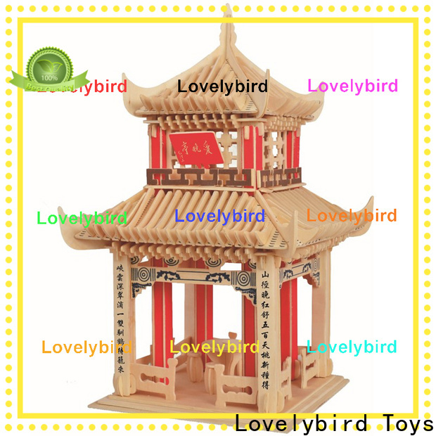 Lovelybird Toys best 3d building puzzle factory for adults