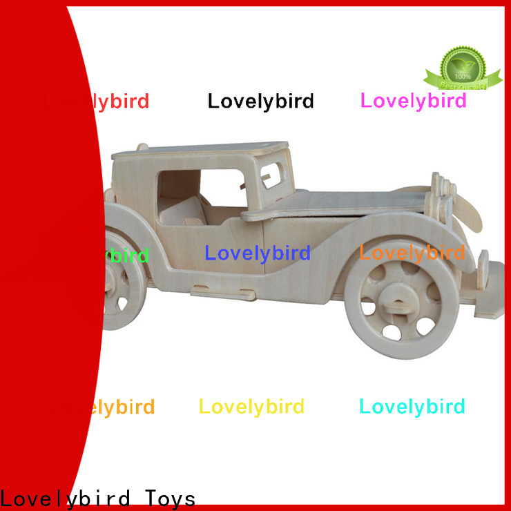Lovelybird Toys 3d airplane puzzle supply for sale