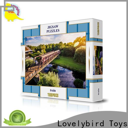 Lovelybird Toys 1500 jigsaw puzzles supply for present