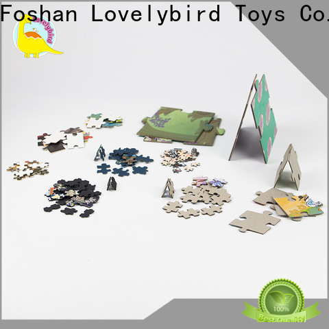 Lovelybird Toys beautiful paper puzzle toy for adults