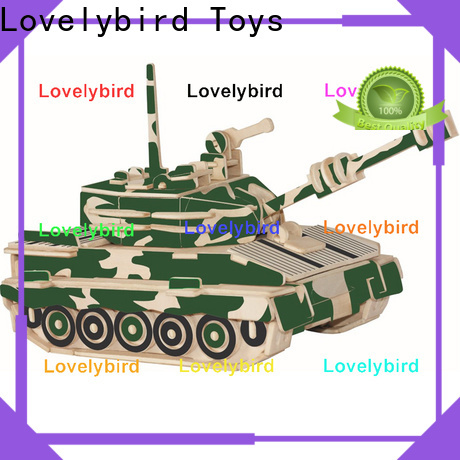 Lovelybird Toys custom 3d puzzle military manufacturers for kids
