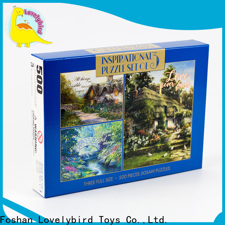 Lovelybird Toys new new jigsaw puzzles manufacturers for sale