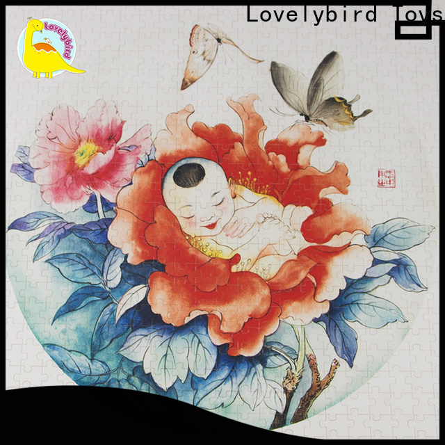 Lovelybird Toys wooden puzzles for kids toy for entertainment