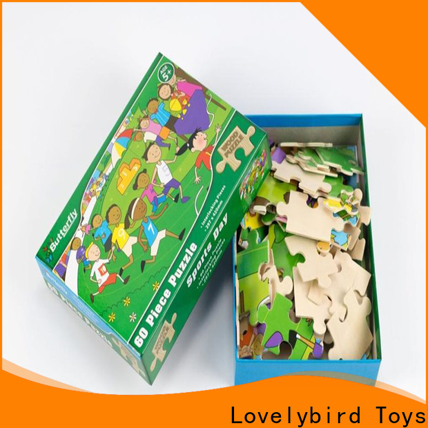 latest wooden puzzles for kids with poster for activities