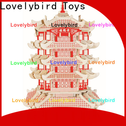 Lovelybird Toys interesting 3d building puzzle suppliers for sale