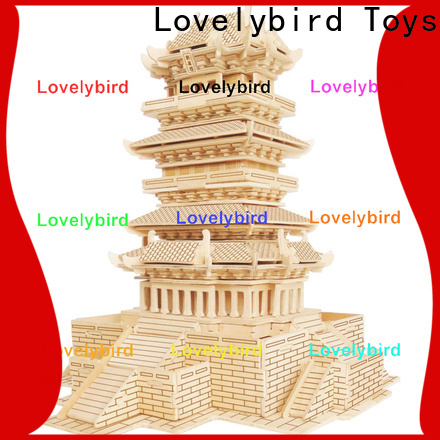 Lovelybird Toys 3d wooden house puzzles company for business