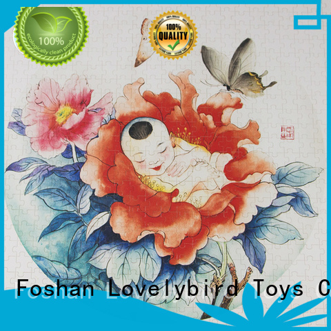 Lovelybird Toys disney wooden puzzles toy for activities