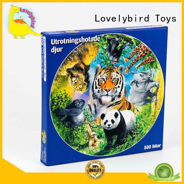 jigsaw toy stamping  500pcpaper Lovelybird Toys Brand