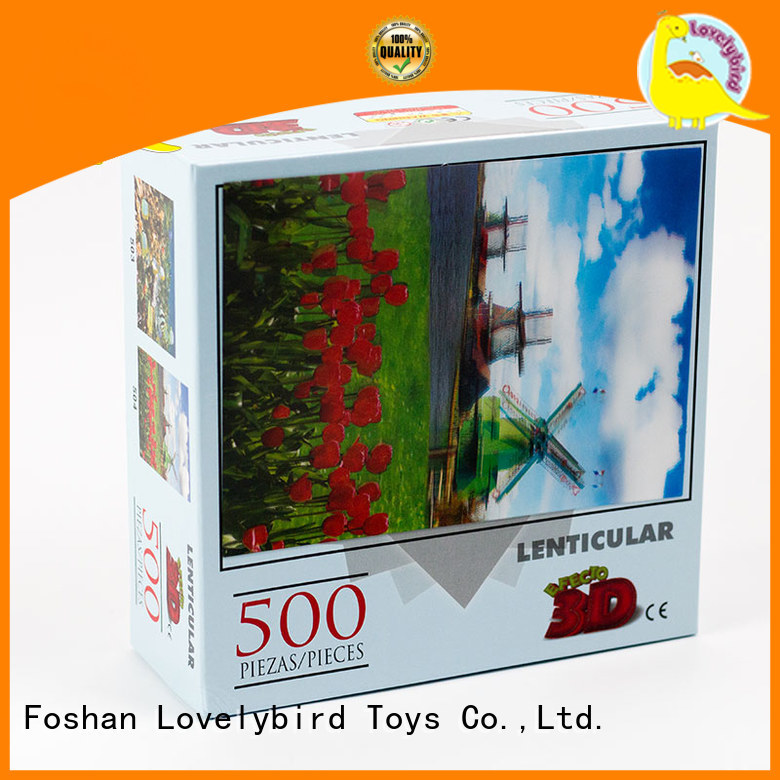 Lovelybird Toys christmas jigsaw puzzles toy for kids