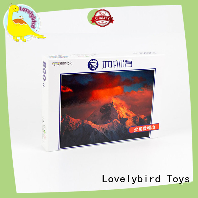 personalised wooden puzzles for adult Lovelybird Toys