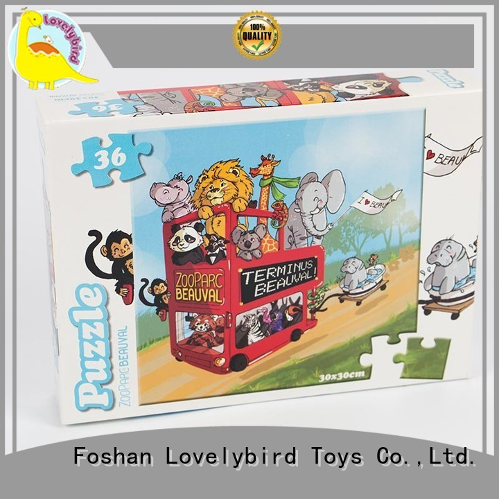 Lovelybird Toys 36 piece puzzle supplier for sale