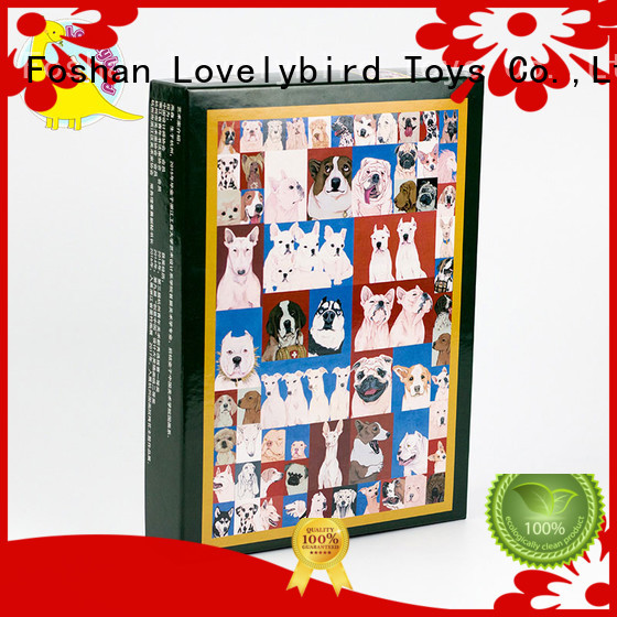 Lovelybird Toys all kinds wooden puzzles with frame for activities