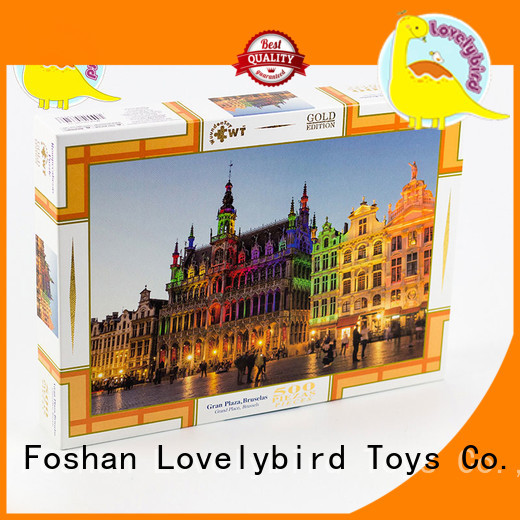 complete jigsaw puzzle design for entertainment Lovelybird Toys