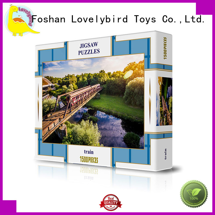 funny jigsaw puzzles wholesale Lovelybird Toys
