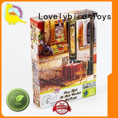 1000pc as puzzle Lovelybird Toys Brand  supplier