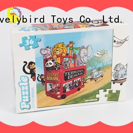 designed 36 piece puzzle wholesale for entertainment Lovelybird Toys