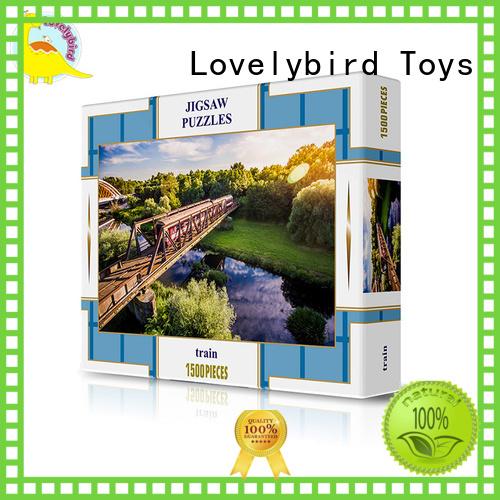 Lovelybird Toys custom puzzle 1500 customization for sale