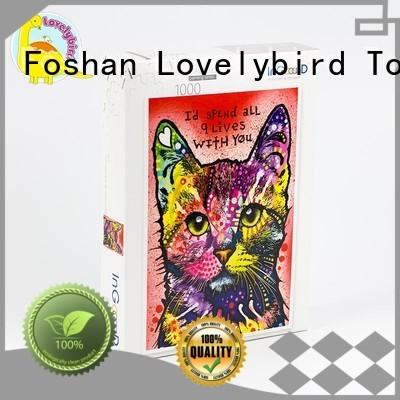 Lovelybird Toys educational custom wooden puzzles for kids