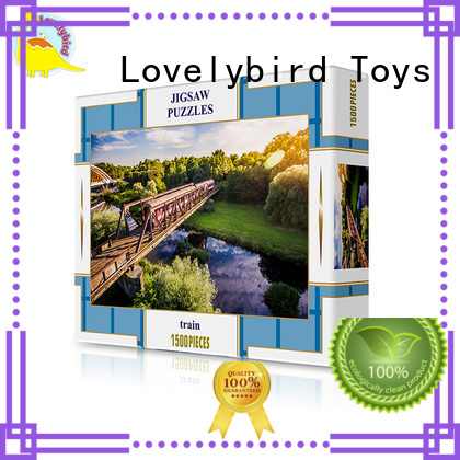 Lovelybird Toys custom funny jigsaw puzzles customization for game