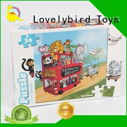 cartoon jigsaw puzzles wholesale for kids Lovelybird Toys