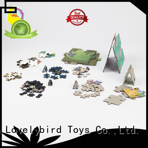 Lovelybird Toys designed the jigsaw puzzles toy for sale