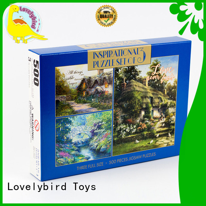 puzzle easy jigsaw puzzles round for Lovelybird Toys