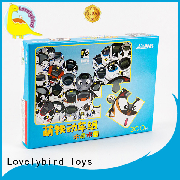 custom wooden puzzles for activities Lovelybird Toys