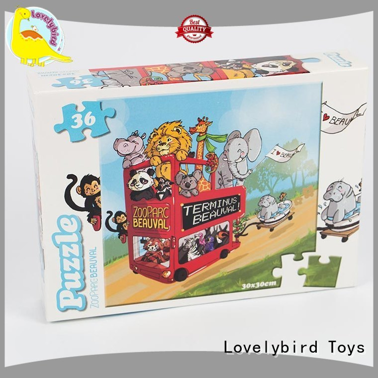 Lovelybird Toys lovely childrens jigsaw puzzles wholesale for party