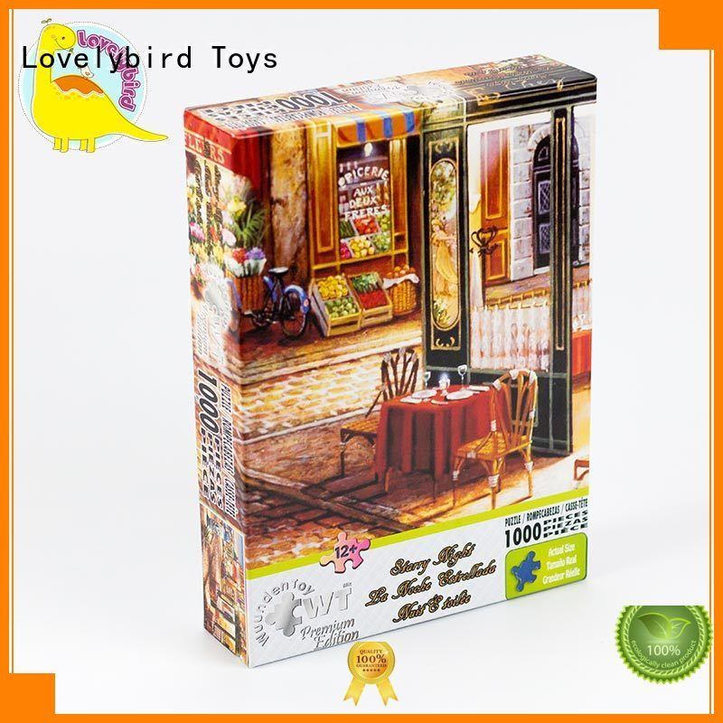 Lovelybird Toys 1000 piece jigsaw puzzles supply for adult