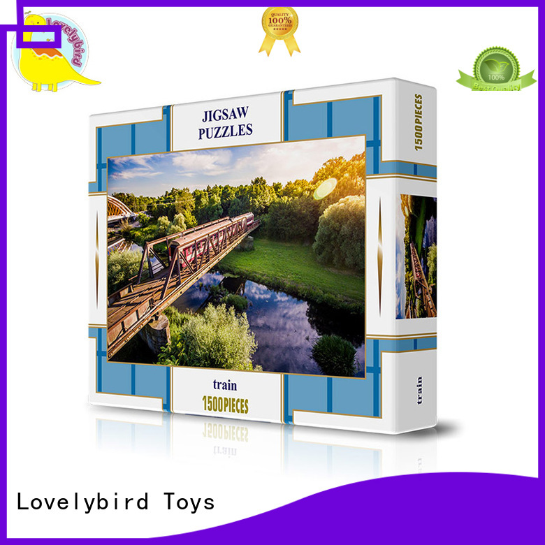 Lovelybird Toys puzzle 1500 customization for entertainment