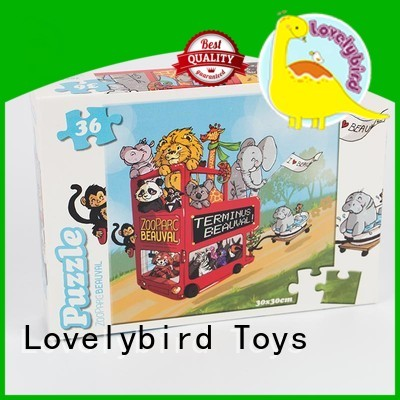 Lovelybird Toys educational childrens jigsaw puzzles toy for kids