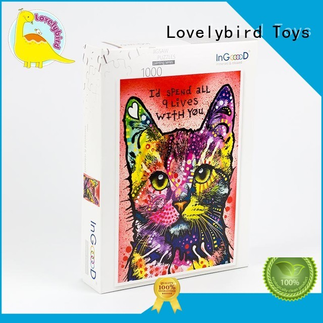 Lovelybird Toys disney wooden puzzles toy for sale