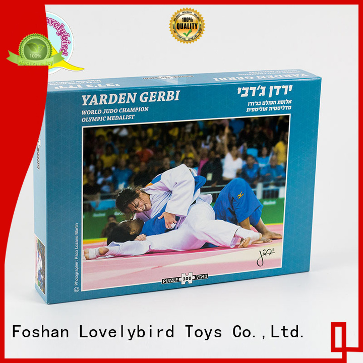Lovelybird Toys paper 300 jigsaw puzzles manufacturer for present