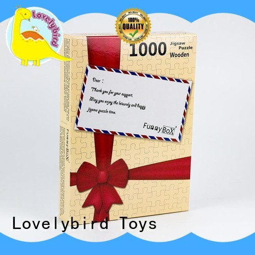 Lovelybird Toys popular  1000 jigsaw puzzles supplier for sale
