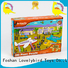 educational custom wooden puzzles with frame for kids