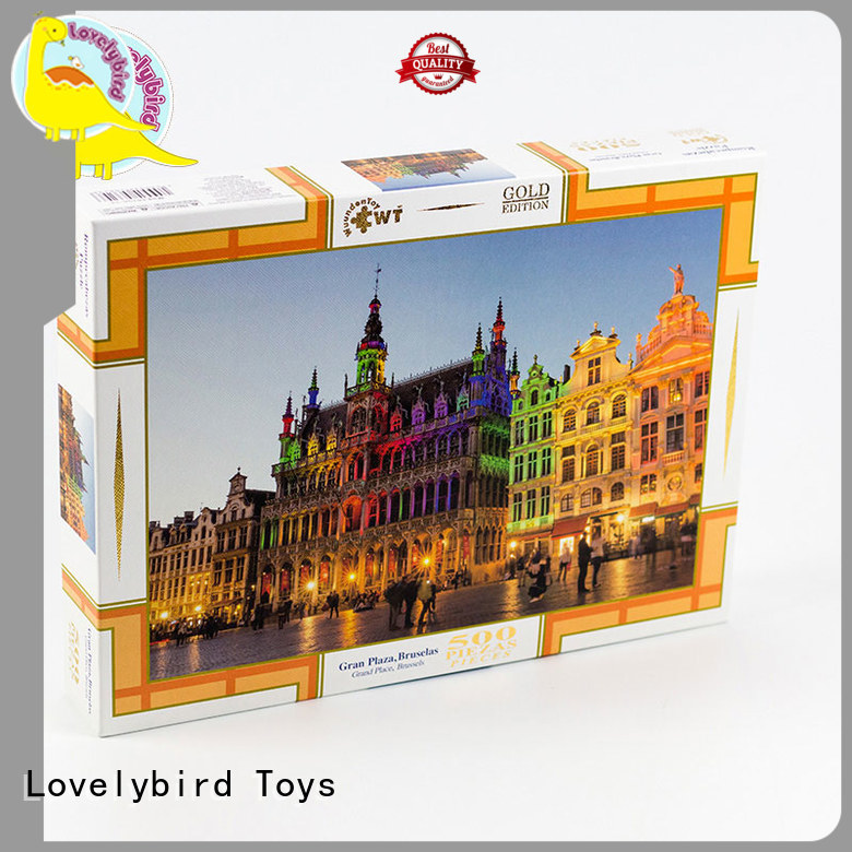 holiday jigsaw puzzles for entertainment Lovelybird Toys