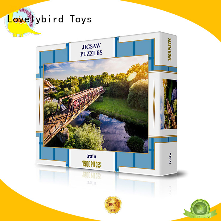Lovelybird Toys 1500 jigsaw puzzles factory for present
