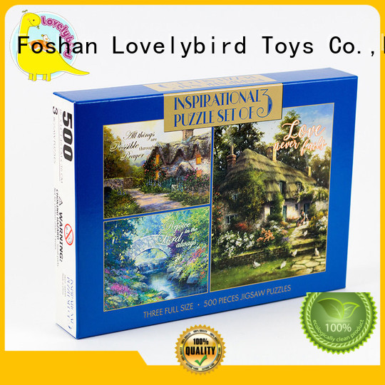Lovelybird Toys best jigsaw puzzles wholesale for entertainment