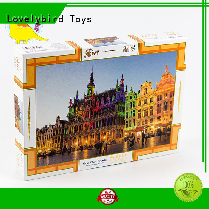 Lovelybird Toys 500 jigsaw puzzles toy for adult