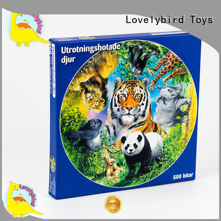 Lovelybird Toys best jigsaw puzzles toy for adult