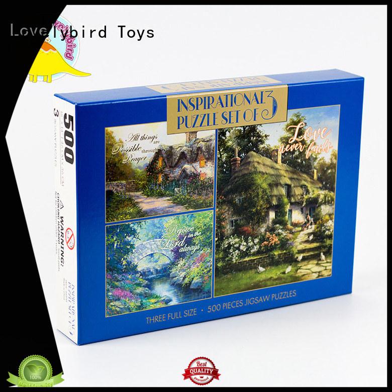 Lovelybird Toys christmas jigsaw puzzles maker for adult