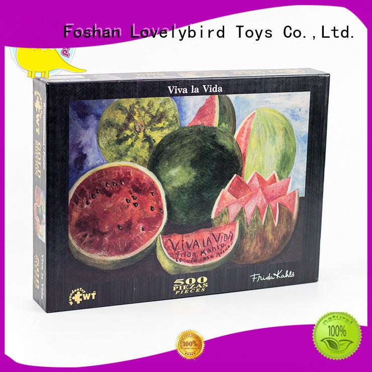 completelenticular stamping 500pcround OEM  Lovelybird Toys