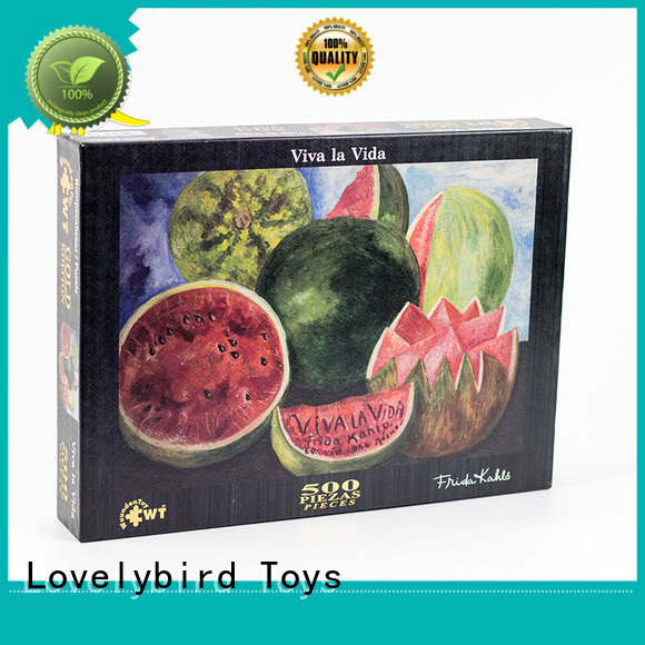 jjgsaw 500 piece puzzles puzzle for Lovelybird Toys